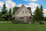 Rustic Home Plan Rear Photo 08 -  011D-0612 | House Plans and More