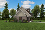 Rustic Home Plan Side View Photo -  011D-0612 | House Plans and More