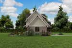 Rustic Home Plan Side View Photo 01 -  011D-0612 | House Plans and More