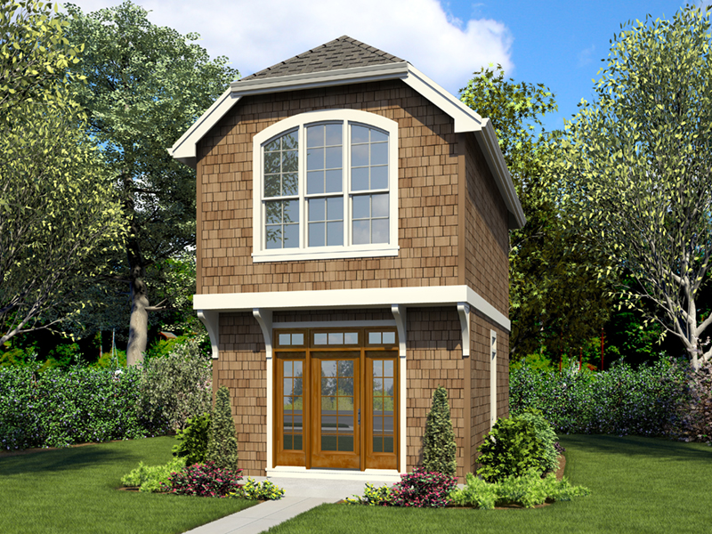 English Cottage House Plan Front of Home -  011D-0616 | House Plans and More