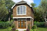 Shingle House Plan Front of Home -  011D-0616 | House Plans and More