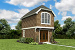 English Cottage House Plan Front Photo 02 -  011D-0616 | House Plans and More