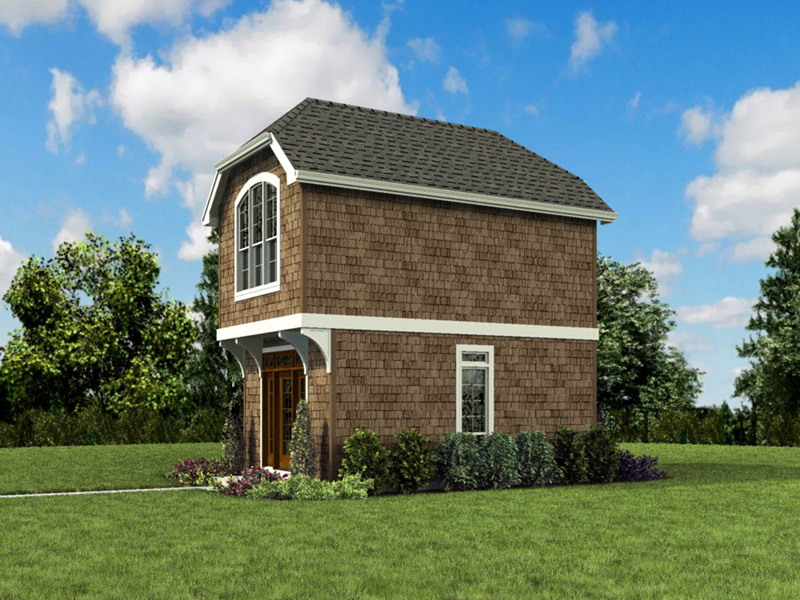 Shingle House Plan Front Photo 03 -  011D-0616 | House Plans and More
