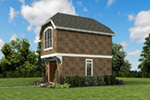English Cottage House Plan Front Photo 03 -  011D-0616 | House Plans and More