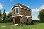 Shingle House Plan Front Photo 04 -  011D-0616 | House Plans and More
