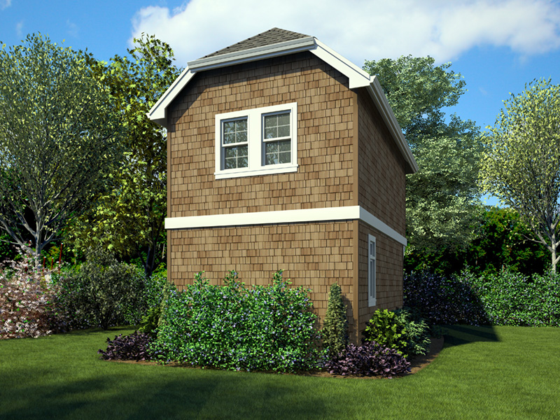 English Cottage House Plan Rear Photo 01 -  011D-0616 | House Plans and More