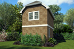 Shingle House Plan Rear Photo 01 -  011D-0616 | House Plans and More