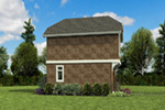 Shingle House Plan Side View Photo -  011D-0616 | House Plans and More