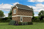 Shingle House Plan Side View Photo 01 -  011D-0616 | House Plans and More