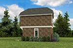 English Cottage House Plan Side View Photo 02 -  011D-0616 | House Plans and More
