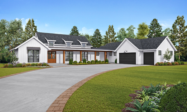 Modern Farmhouse Plans House Plans And More
