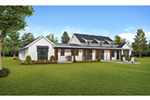 Arts & Crafts House Plan Rear Photo 01 -  011D-0630 | House Plans and More