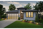 Front of Home -  011D-0642 | House Plans and More