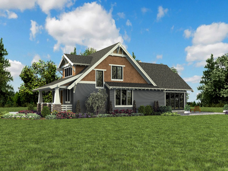 Bungalow House Plan Front Photo 02 - 011D-0647 | House Plans and More