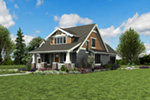Bungalow House Plan Front Photo 03 - 011D-0647 | House Plans and More