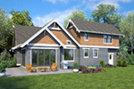 Bungalow House Plan Rear Photo 03 - 011D-0647 | House Plans and More