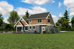Bungalow House Plan Rear Photo 04 - 011D-0647 | House Plans and More