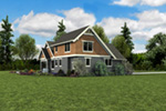 Bungalow House Plan Side View Photo 01 - 011D-0647 | House Plans and More