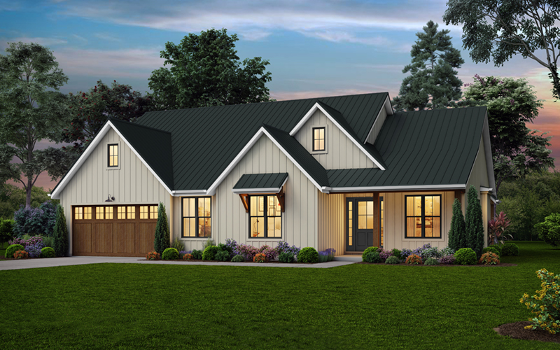 Florida House Plan Front of Home - 011D-0650 | House Plans and More