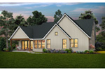 Florida House Plan Rear Photo 01 - 011D-0650 | House Plans and More