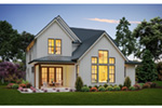 Farmhouse Plan Rear Photo 01 - 011D-0652 | House Plans and More