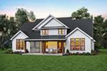 Modern Farmhouse Plan Rear Photo 01 - 011D-0653 | House Plans and More