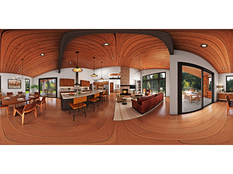 Beach & Coastal House Plan Great Room Photo 01 - 011D-0655 | House Plans and More