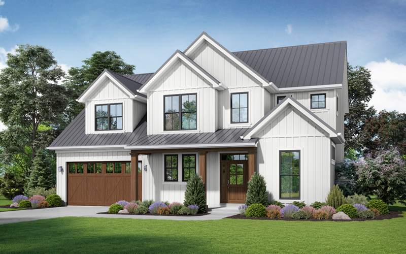 Beach & Coastal House Plan Front of Home - 011D-0658 | House Plans and More