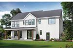 Beach & Coastal House Plan Rear Photo 01 - 011D-0658 | House Plans and More