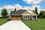 Country House Plan Front Photo 01 - 011D-0665 | House Plans and More