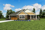 Country House Plan Front Photo 10 - 011D-0665 | House Plans and More