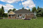 Country House Plan Rear Photo 02 - 011D-0665 | House Plans and More