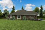 Country House Plan Side View Photo - 011D-0665 | House Plans and More