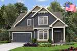 Craftsman House Plan Front Image - 011D-0673 | House Plans and More