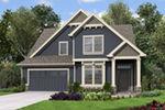 Arts & Crafts House Plan Front of House 011D-0673