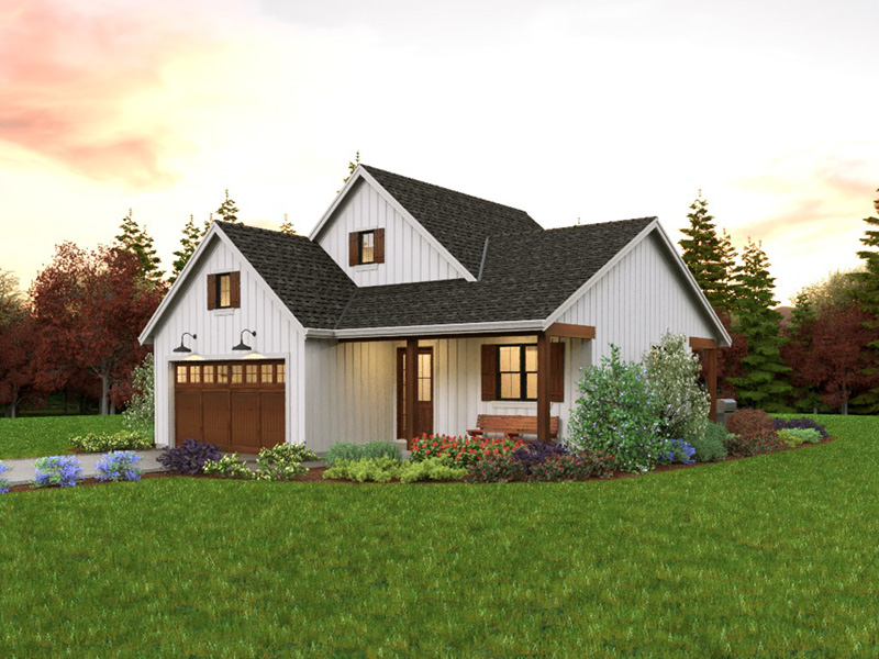 Farmhouse Plan Front Photo 02 - 011D-0676 | House Plans and More