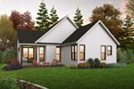 Farmhouse Plan Rear Photo 01 - 011D-0676 | House Plans and More