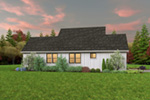 Farmhouse Plan Side View Photo 02 - 011D-0676 | House Plans and More