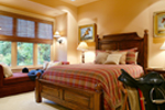 Luxury House Plan Bedroom Photo 01 - Cliffwood Trail Lodge Home 011S-0001 | House Plans and More