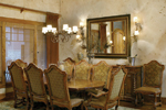 Luxury House Plan Dining Room Photo 01 - Cliffwood Trail Lodge Home 011S-0001 | House Plans and More