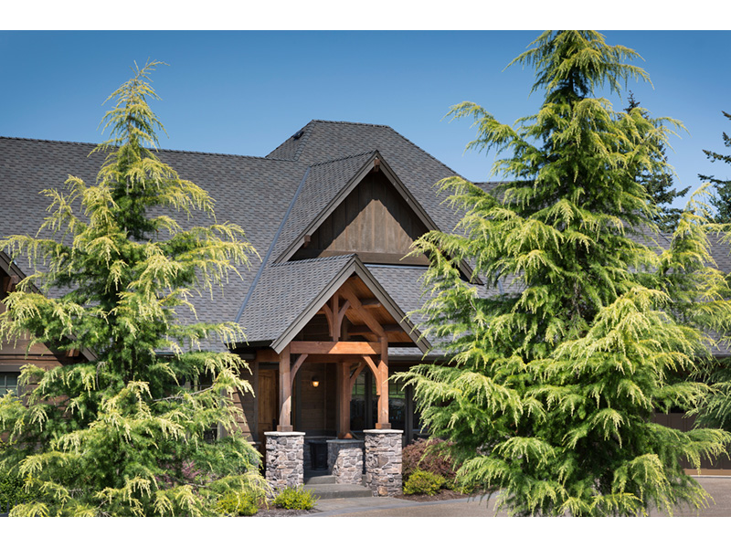 Luxury House Plan Entry Photo 02 - Cliffwood Trail Lodge Home 011S-0001 | House Plans and More