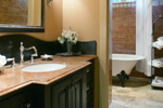 Luxury House Plan Guest Bathroom Photo - Cliffwood Trail Lodge Home 011S-0001 | House Plans and More