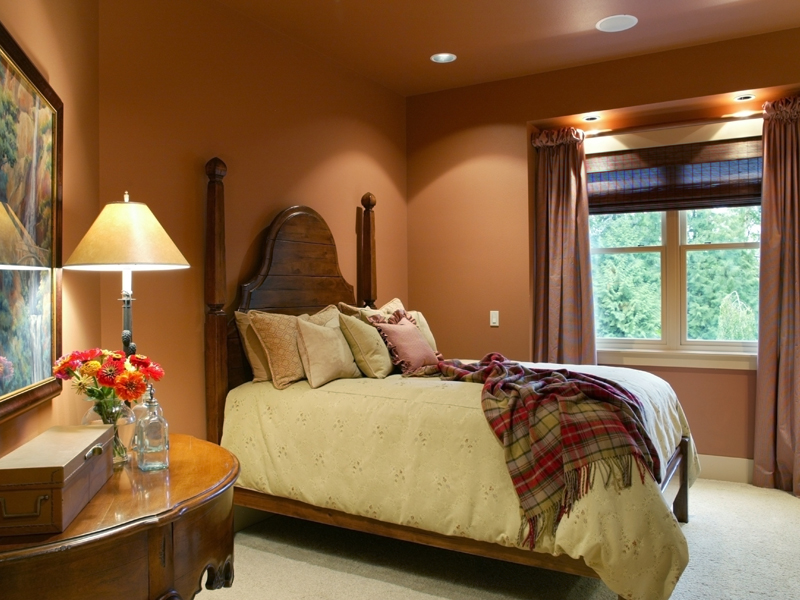 Luxury House Plan Guest Bedroom Photo - Cliffwood Trail Lodge Home 011S-0001 | House Plans and More