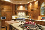 Luxury House Plan Kitchen Photo 01 - Cliffwood Trail Lodge Home 011S-0001 | House Plans and More