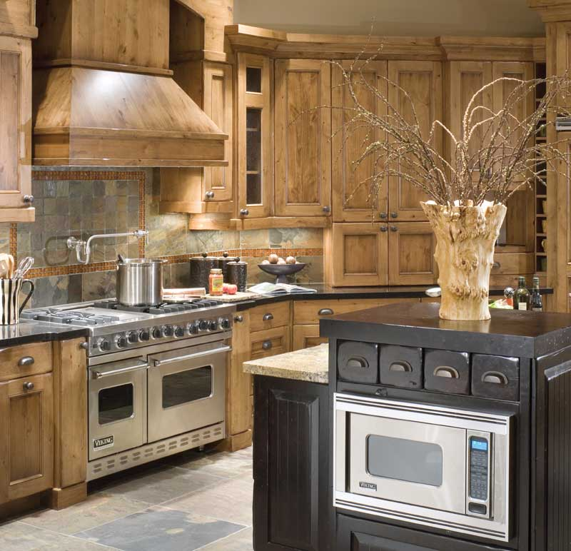 Luxury House Plan Kitchen Photo 05 - Cliffwood Trail Lodge Home 011S-0001 | House Plans and More