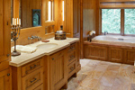 Luxury House Plan Master Bathroom Photo 02 - Cliffwood Trail Lodge Home 011S-0001 | House Plans and More