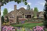 Luxury House Plan Color Image of House - Cliffwood Trail Lodge Home 011S-0001 | House Plans and More