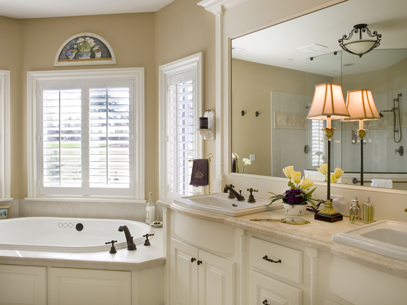 Country French House Plan Bathroom Photo 01 - Castlton European Grandeur Home 011S-0002 | House Plans and More