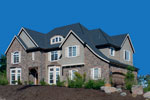 European House Plan Front Photo 03 - Castlton European Grandeur Home 011S-0002 | House Plans and More