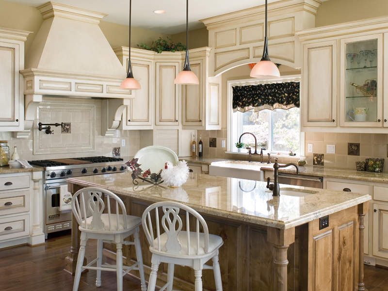 Neoclassical Home Plan Kitchen Photo 01Castlton European Grandeur Home  011S-0002